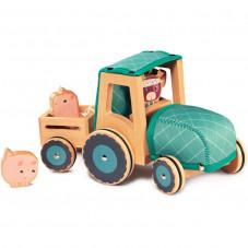 tracteur bois lilliputiens