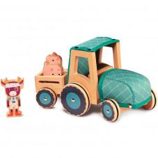 tracteur jouet en bois lilliputiens pas cher