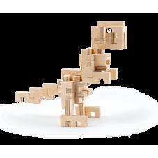 dinosaure à construire en bois cloze