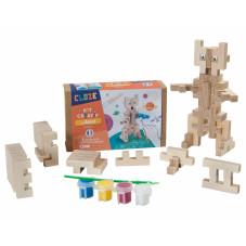 jeu de construction en bois cloze fabriqué en france