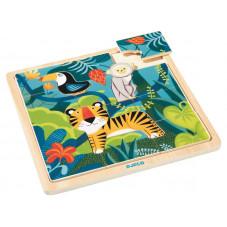 puzzle djeco 3 ans 12 pièces