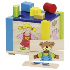 boite à formes puzzle goki