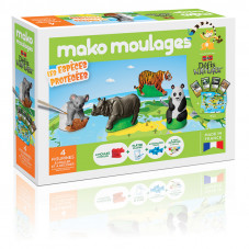 mako moulages espèces protégées