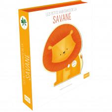 livre sonore les petits animaux de la savane sassi