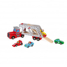 camion en bois jouet en bois 2 ans janod