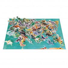 puzzle les dinosaures jeu éducatif et ludique