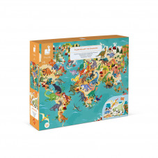 puzzle dinosaures janod