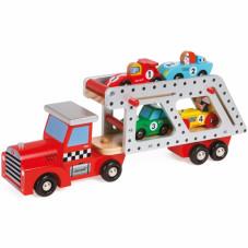 camion et voiture en bois janod