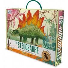 maquette dinosaure en carton
