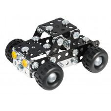 jeep à construire en métal meccano