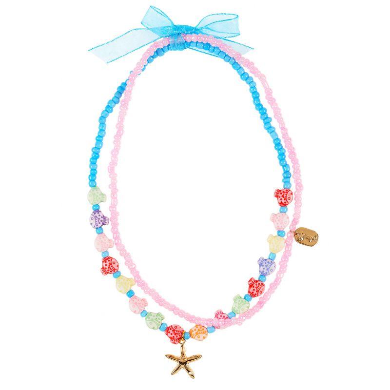 collier enfant avec perles 3 ans