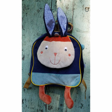 sac à dos maternelle lapin