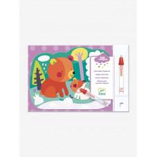 Coloriage magiques Djeco, commerce de proximité Poli petit pois