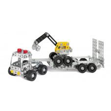camion et pelle en métal çà construire meccano eitech