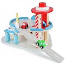 garage voitures en bois jouet bois 3 ans