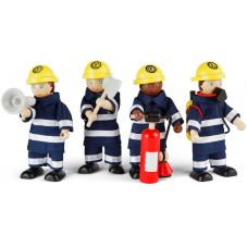 set de pompiers accessoire figurines