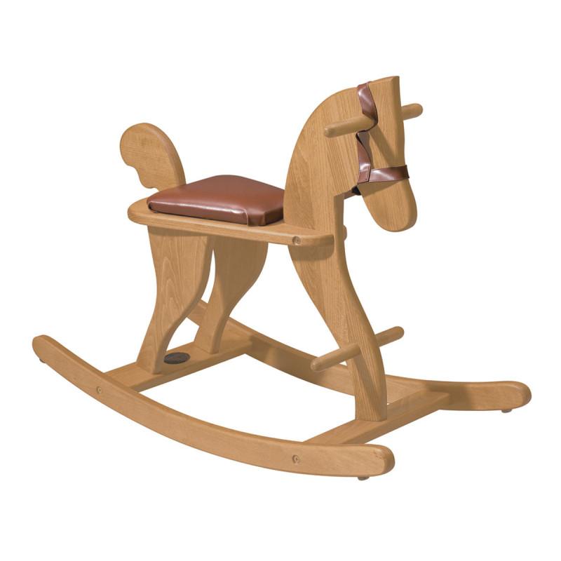 cheval à bascule en bois les jouets d'hier moulin roty