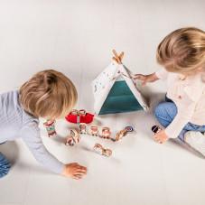 jouet d'éveil 2 ans tipi et indiens lilliputiens