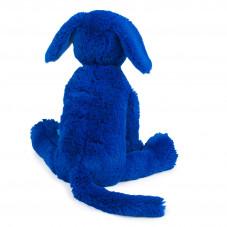 peluche moulin roty naissance chien bleu