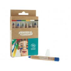 crayons de maquillage arc en ciel namaki