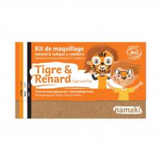 kit maquillage tigre et renard namaki