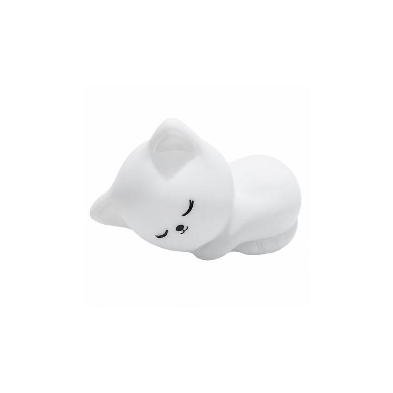 veilleuse chat blanc alilo