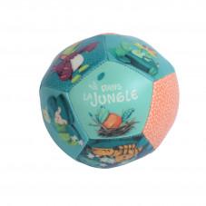 ballon dans la jungle moulin roty joute d'éveil tissu