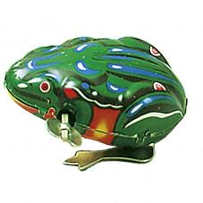 grenouille sauteuse en métal à mécanisme