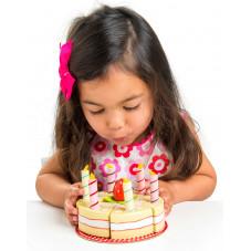 gâteau à la vanille en bois toy van