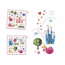 stickers princesse djeco à partir de 4 ans