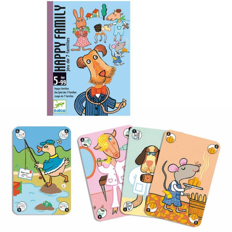 happy family jeu de cartes djeco