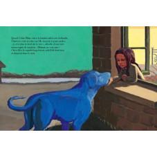 livre chien bleu école des loisirs