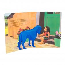 livre chien bleu de nadja