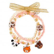 Bracelet perles jungle