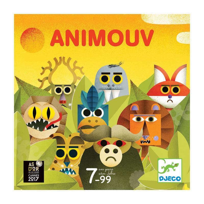 jeu de plateau Animouv Djeco