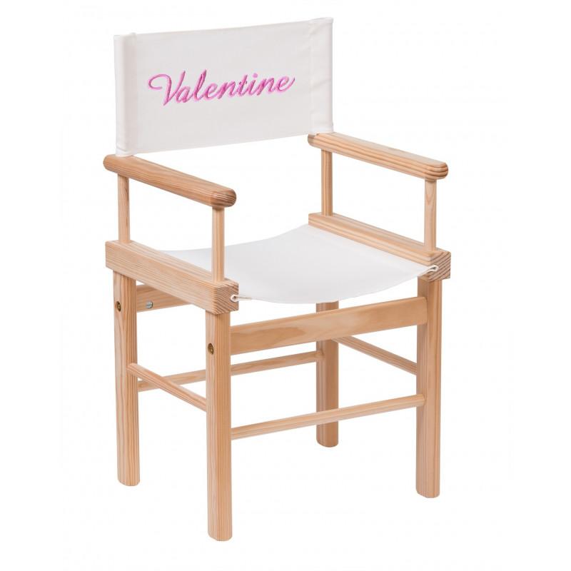 fauteuil metteur en scène au prénom