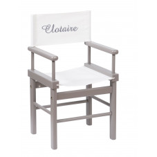 fauteuil brodé au prénom moulin roty