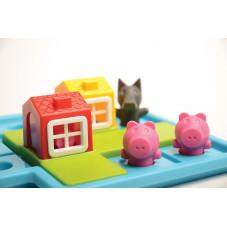 jeu de défi évolutif les trois petits cochons