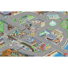 circuit de voiture tapis de sol