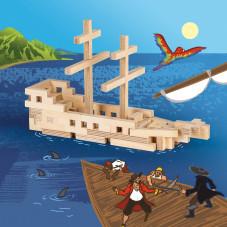 bateau en bois cloze