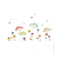 Sticker pompoms