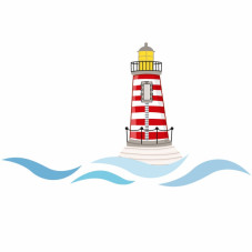 stickers muraux phare serie golo