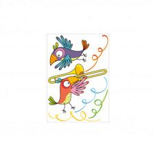 stickers perroquet décoration