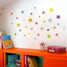 stickers muraux étoiles