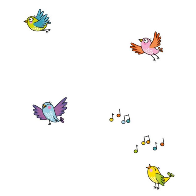 stickers oiseaux série golo