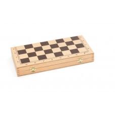 échecs en bois pliant