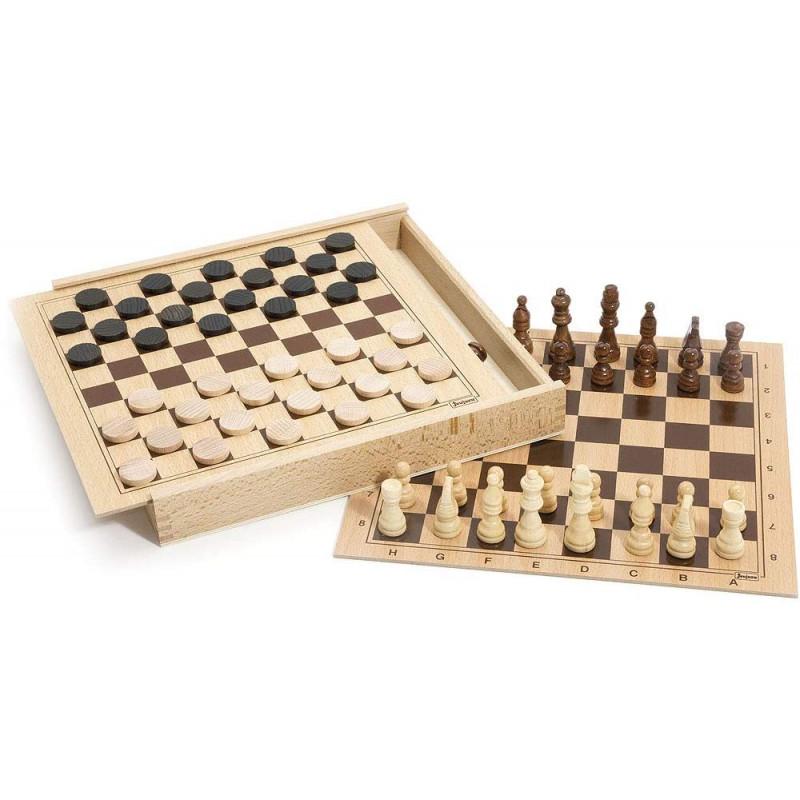 jeu de dames et échecs jeujura