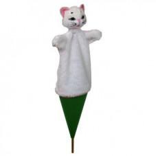 marotte marionnette chat