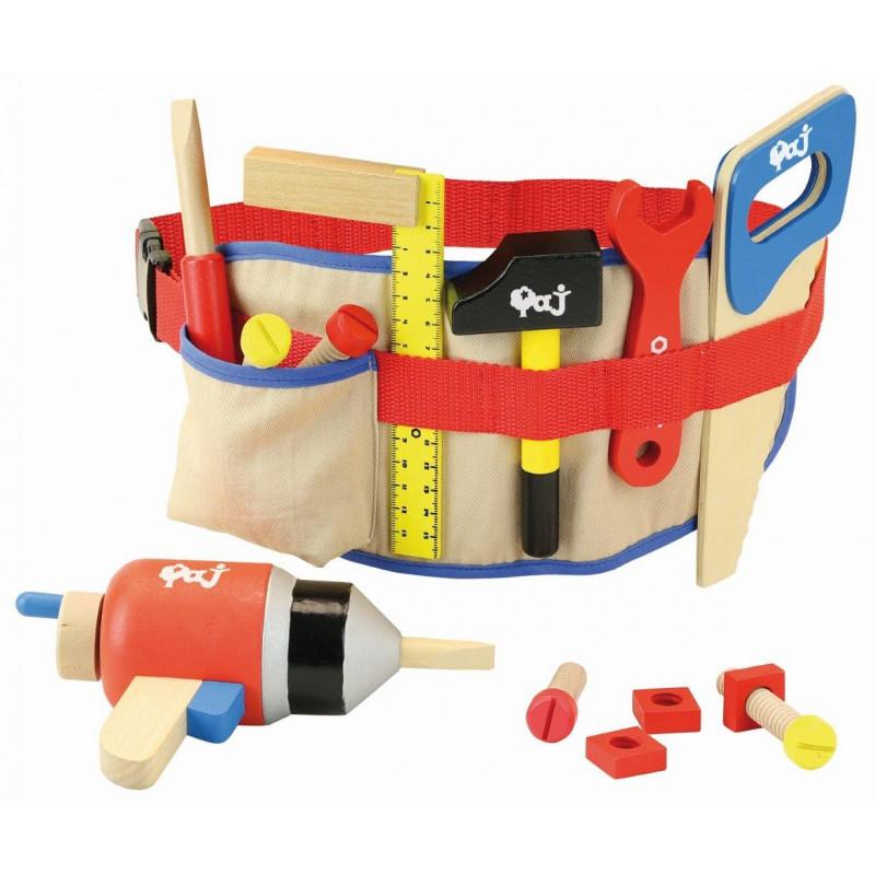 ceinture à outils en bois