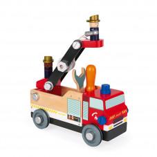 camion de pompiers brico kids